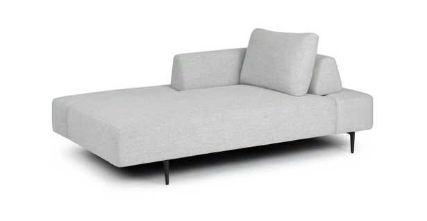 Divan Mist Gray Daybed - Article