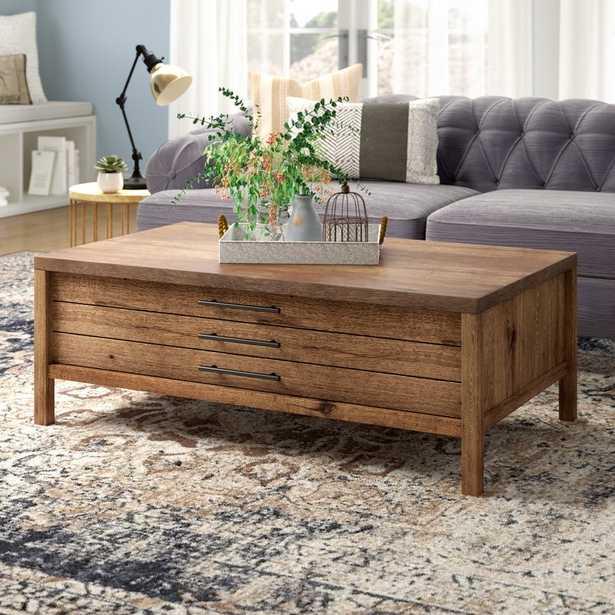 Odile Coffee Table with Storage - Wayfair