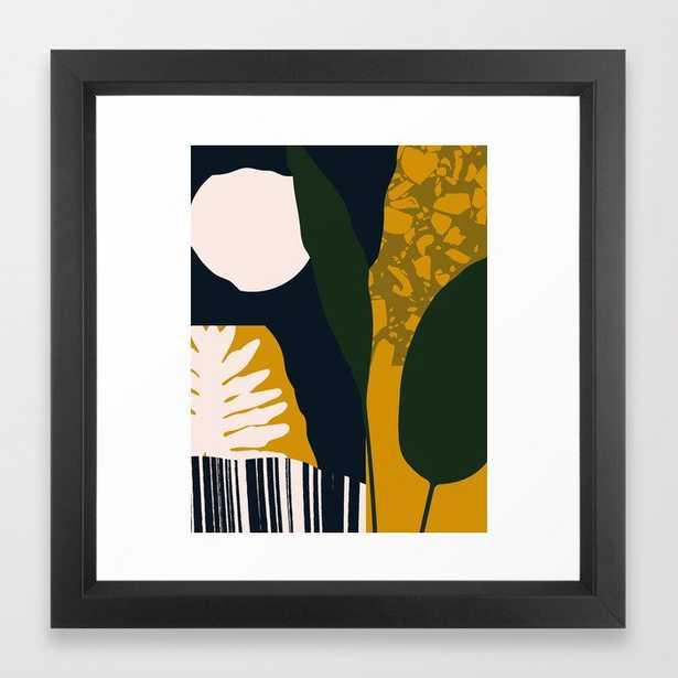 Midnight Framed Art Print12x12'' - Society6