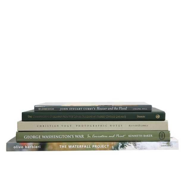 5 Piece Boxwood Authentic Decorative Book Set - Perigold