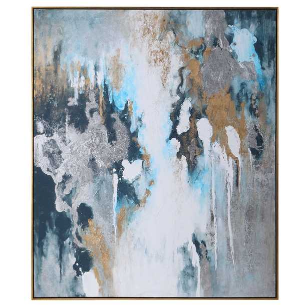 STORMY SEAS HAND PAINTED CANVAS - Hudsonhill Foundry