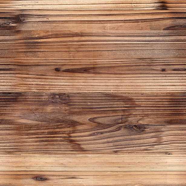 Locke Wood Imitation Removable Peel and Stick Wallpaper Panel - Wayfair