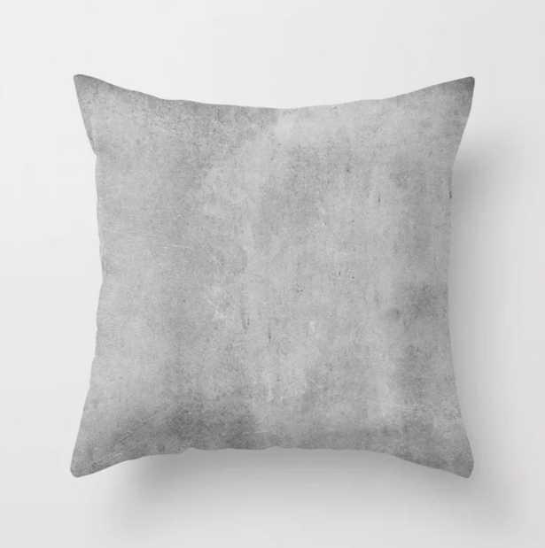 Concrete Jungle Throw Pillow - Society6