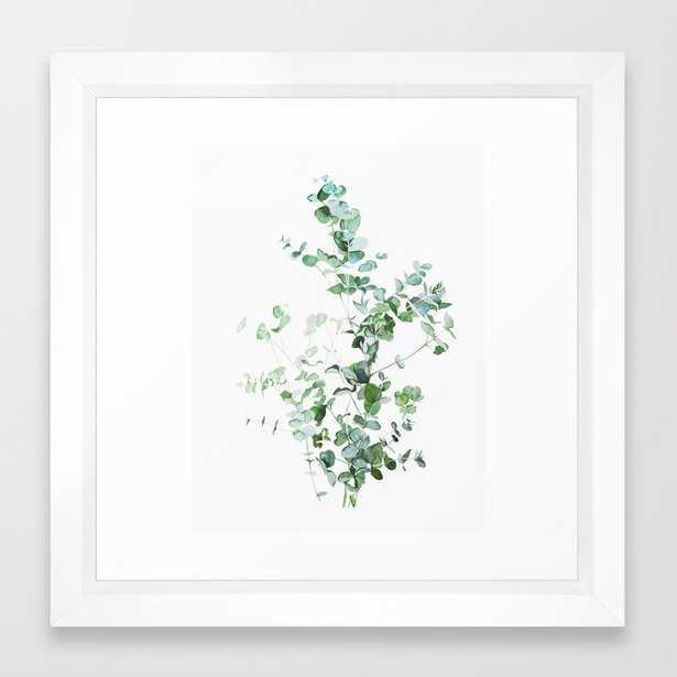 Botanical Framed Art Print White Frame - Society6