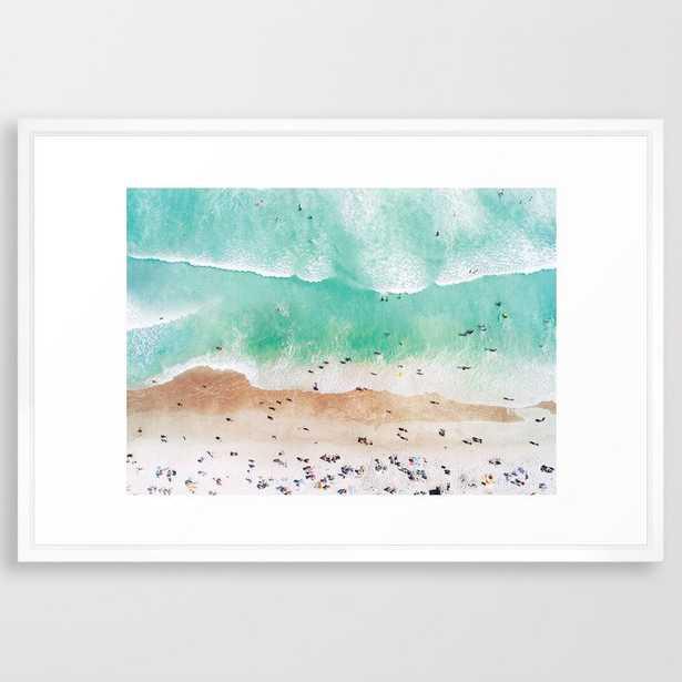 Beach Mood Framed Art Print - Society6