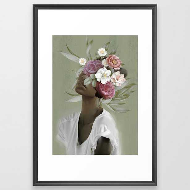 Bloom 9 Framed Art Print - Society6