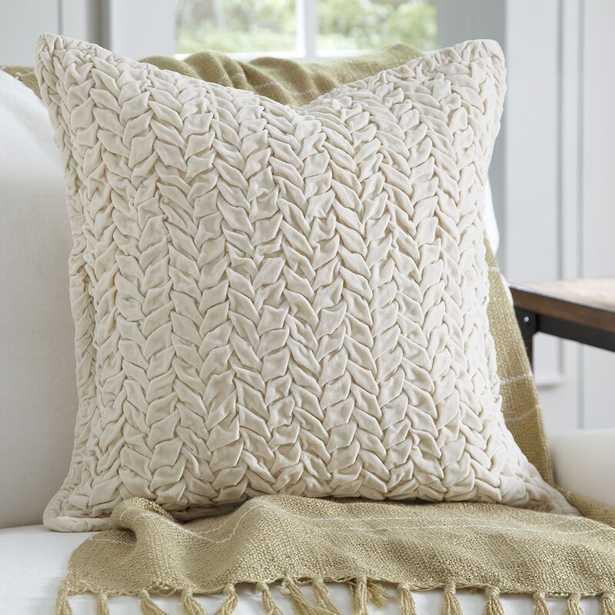 Bradninch Velvet Quilted Pillow Cover - Wayfair