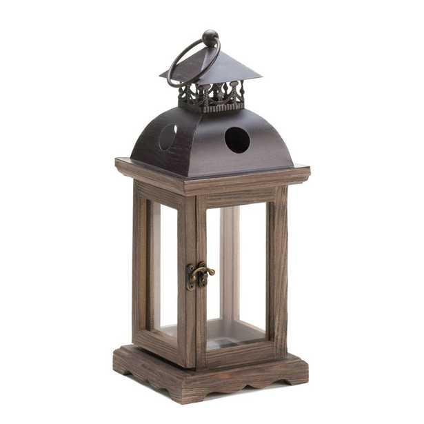 Wooden Lantern - Small - Wayfair