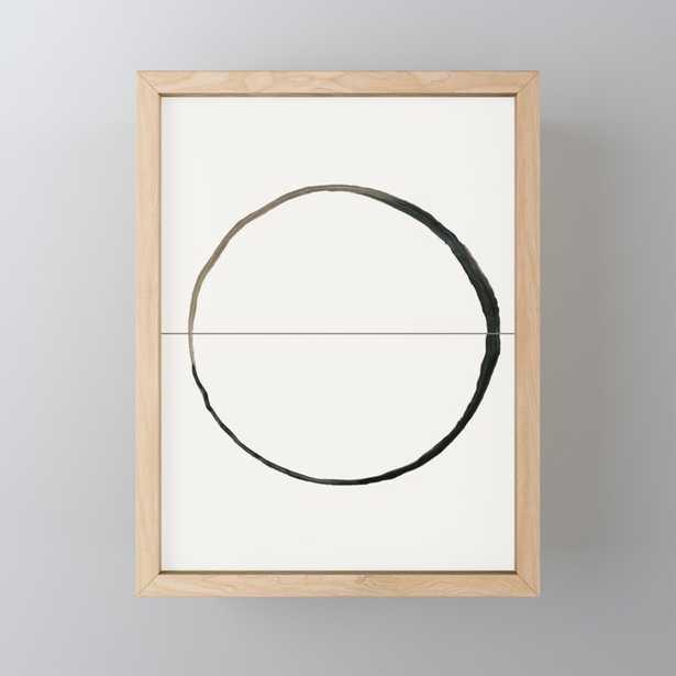 C7 Framed Mini Art Print - Society6