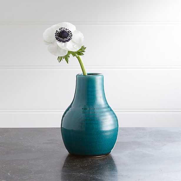 Patine Pot Ceramic Bud Vase - Crate and Barrel