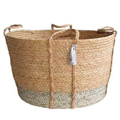 Handwoven Wicker/Rattan Basket - Wayfair