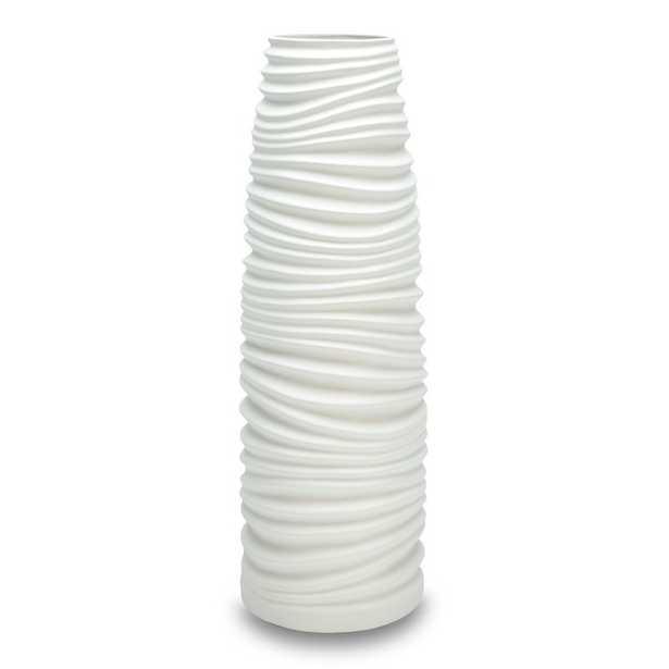 Wade Logan Floor Vase in White - Wayfair