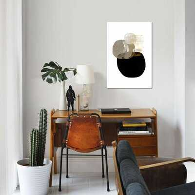 "Minimal Tone by Dan Hobday - Wrapped Canvas Print - 40"" x 26"" - AllModern"