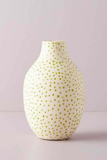 Dottie Vase By Anthropologie in Green Size L - Anthropologie