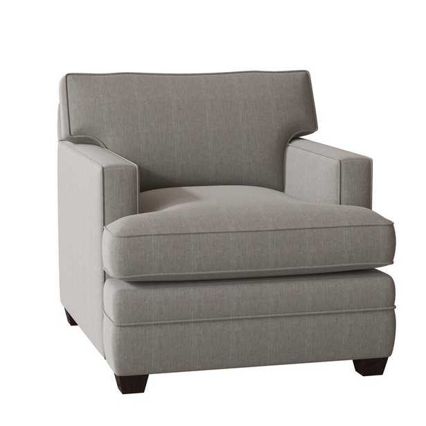 Living Your Way Track Arm Chair, Cruise Adrift Upholstery - Birch Lane