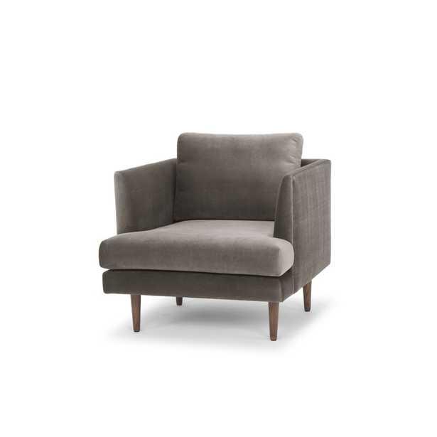 Jase 32'' Wide Velvet Armchair - Wayfair