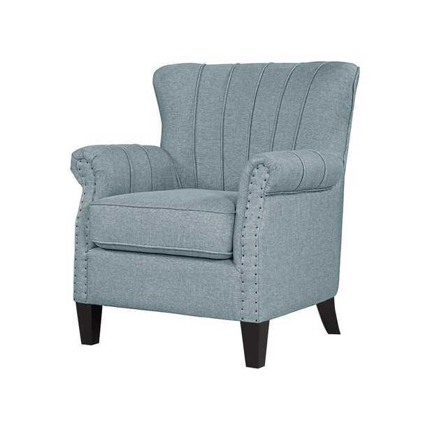 Haywa Armchair - Light Blue - Wayfair