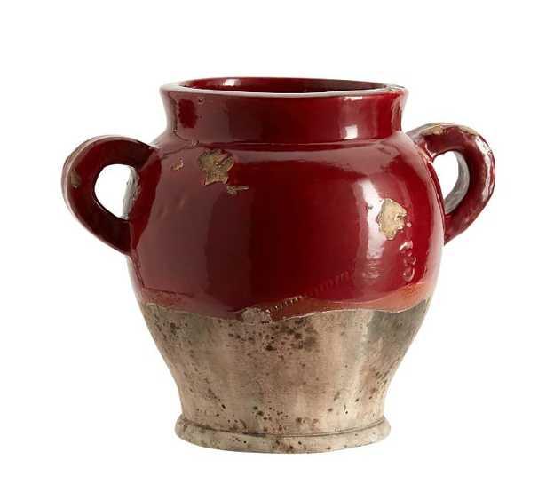 Sonoma Ceramic Vases - Red - Pottery Barn