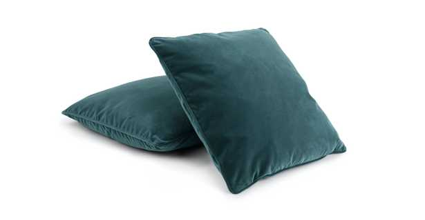"""Lucca Pacific Blue Pillow, 20"""" (Set of 2) RESTOCK Late October 2021 - Article"""