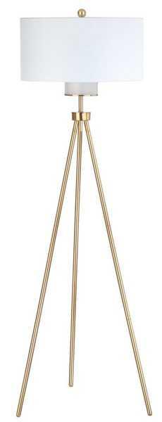 Enrica 66-Inch H Floor Lamp - Brass/Gold - Arlo Home - Arlo Home