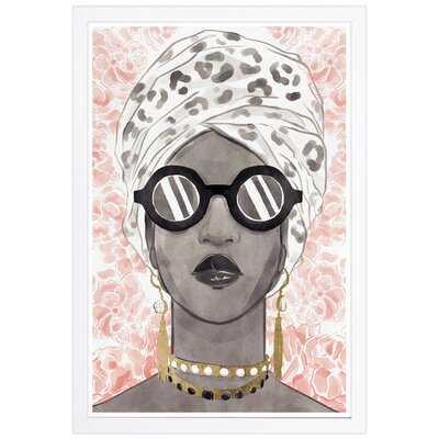 Spots And Shades Framed Art Print - Wayfair