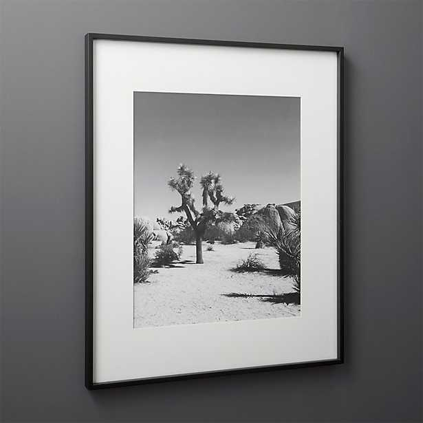 Gallery Black Frame with White Mat 16 x 20 - CB2