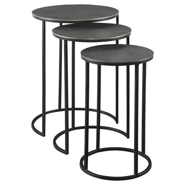Erik Metal Nesting Tables, Set of 3 - Hudsonhill Foundry