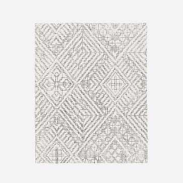 Stone Tile Rug, Alabaster, 9'x12' - West Elm