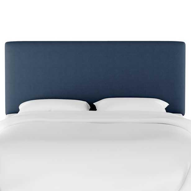 Bronwood Upholstered Panel Headboard - Navy - Wayfair