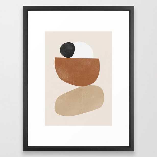 Minimal Abstract Art 41 Framed Art Print - Society6