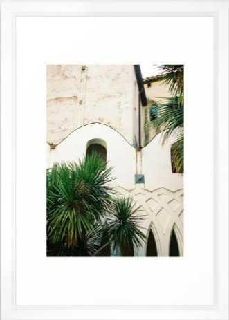 Italian architecture on the Amalfi coast | Travel photography Italy Europe Framed Art Print - Society6