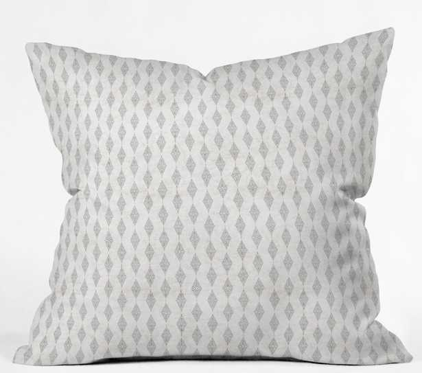 BOHO DIAMOND Throw Pillow with insert - Wander Print Co.