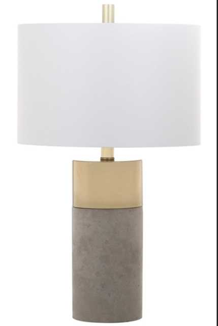 Oliver Table Lamp - Set of 2 - Grey - Arlo Home - Arlo Home
