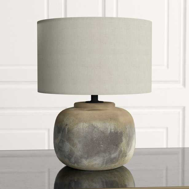 "Beton 20"" Table Lamp - Perigold"