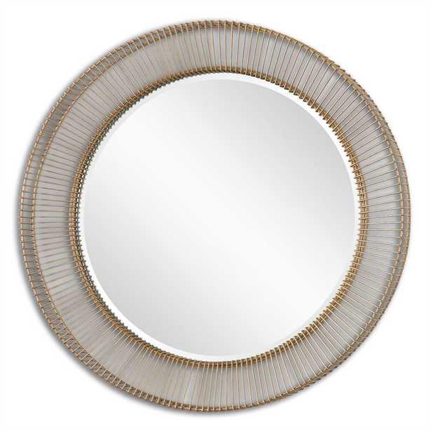 Bricius Round Mirror - Hudsonhill Foundry