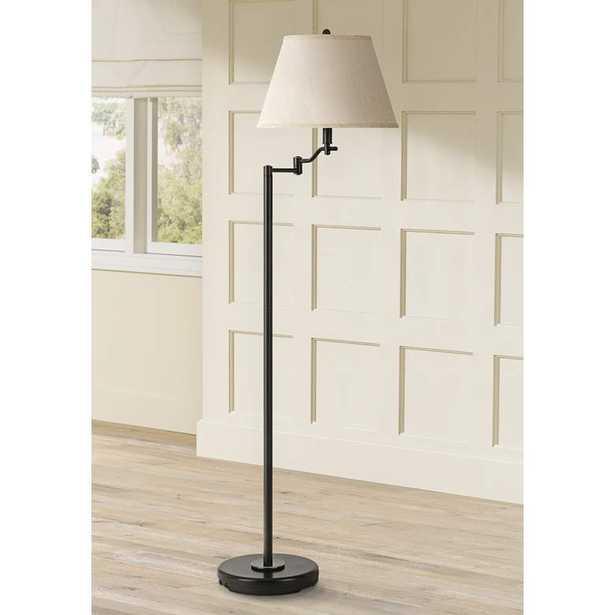 Stila Dark Bronze Swing Arm Floor Lamp - Lamps Plus