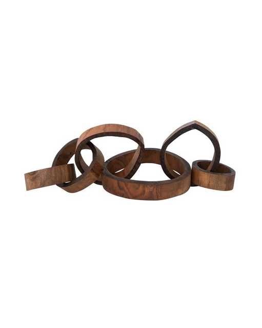 LINKED WOOD OBJECT - McGee & Co.