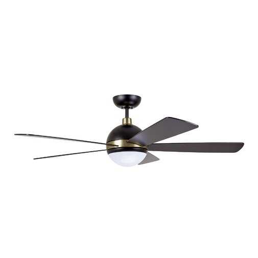 """52"""" Tion Astor 5 Blade LED Ceiling Fan with Remote Light Kit Included - Wayfair"""
