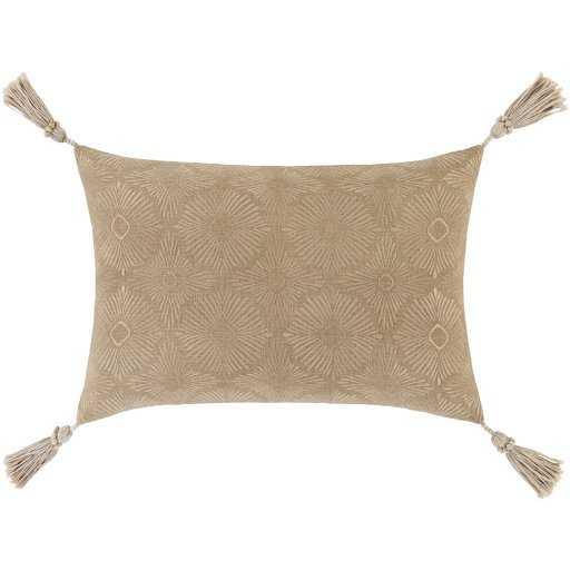 Etta Pillow Cover, Khaki - Cove Goods