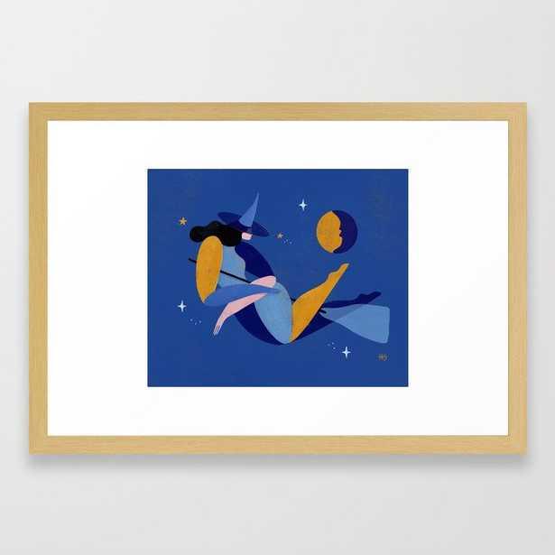Something Wicked Framed Art Print - Society6