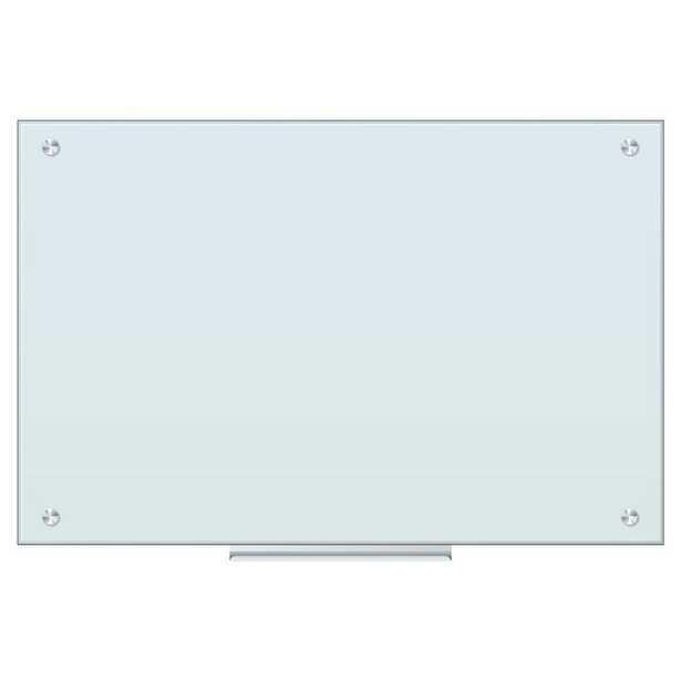 Wall Mounted Magnetic Glass Board - Wayfair