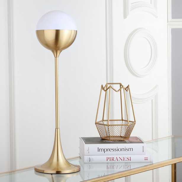 Lando 27-Inch H Table Lamp - Brass Gold - Arlo Home - Arlo Home