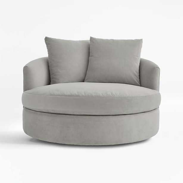 Tillie Grande Swivel Chair - Crate and Barrel
