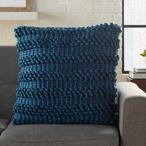 Colmars Throw Pillow - navy - Wayfair