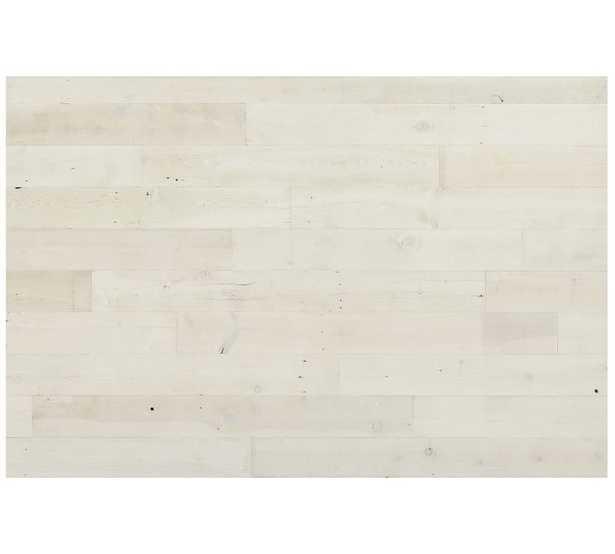 Stikwood Peel and Stick Wood Panels - White Hamptons - Pottery Barn