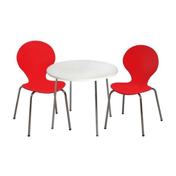 Shevchenko Place Kids 3 Piece Writing Table and Chair Set - Wayfair