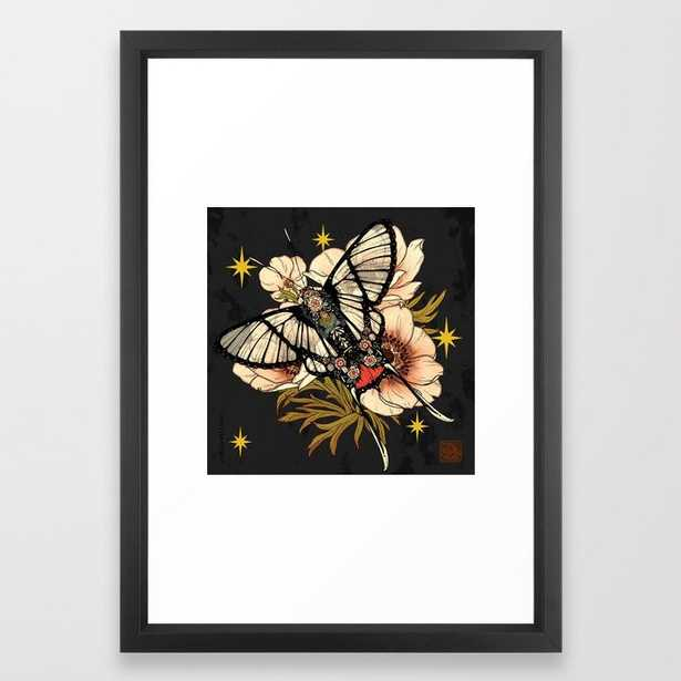 Andean Bee Butterfly Framed Art Print - Society6