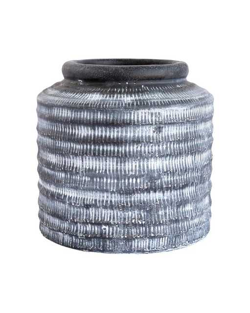 GRAY WASHED POT - SMALL - McGee & Co.