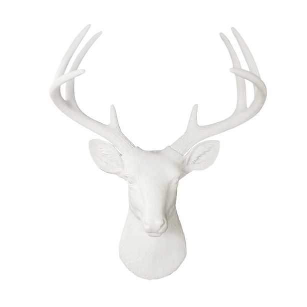 Semaj Faux Taxidermy Deer Head Wall Décor - Wayfair