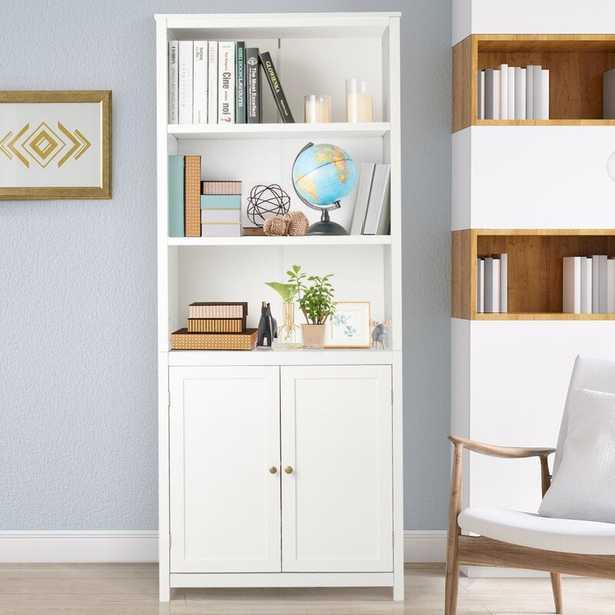"""Delycia 71.5"""" H x 29"""" W Standard Bookcase - Wayfair"""